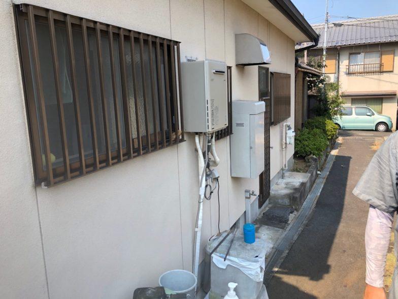 和歌山県三菱エコキュートSRT-S375UZ施工前の写真