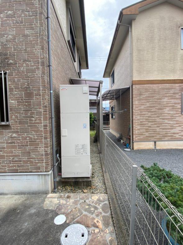 兵庫県日立エコキュートBHP-F37SD施工後の写真