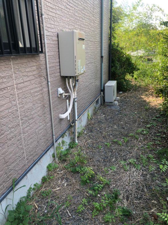 愛知県三菱エコキュートSRT-S375UA施工前の写真
