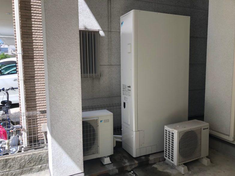 兵庫県ダイキンエコキュートEQ46VFTV施工後の写真