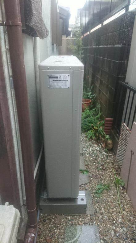 奈良県nichicon蓄電池ESS-H2L1施工後の写真