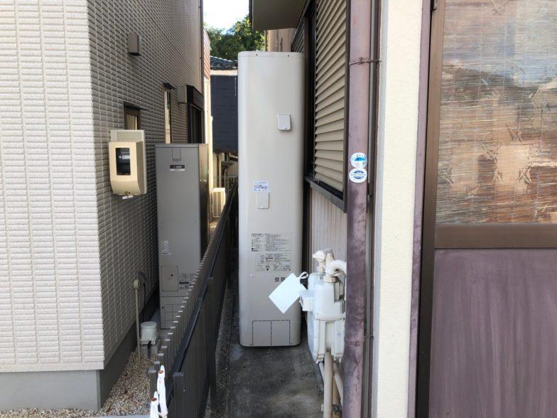 兵庫県東芝エコキュートHWH-B376HWIHクッキングヒーターCS-G318M施工後の写真