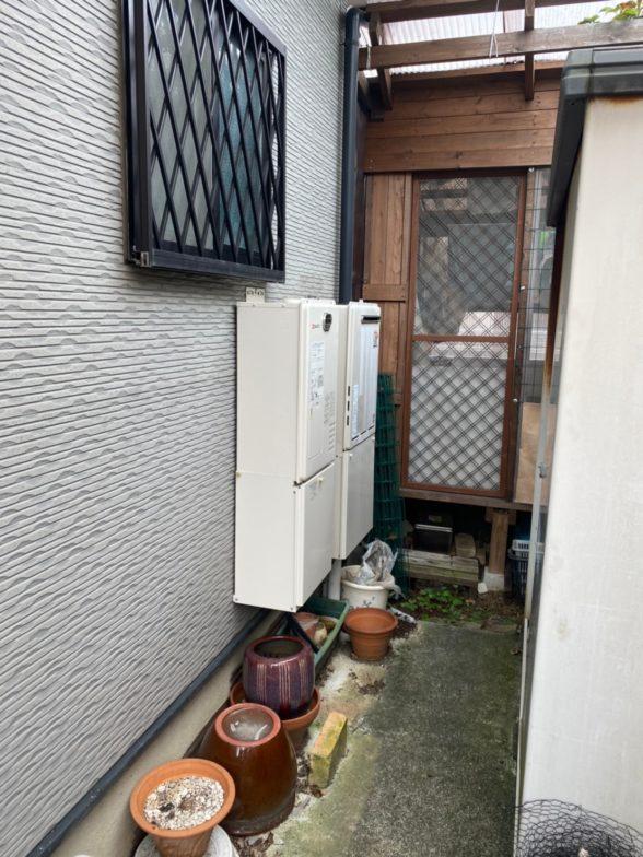 奈良県東芝エコキュートHWH-B376HWIHクッキングヒーターCS-PT316HNWSR施工前の写真