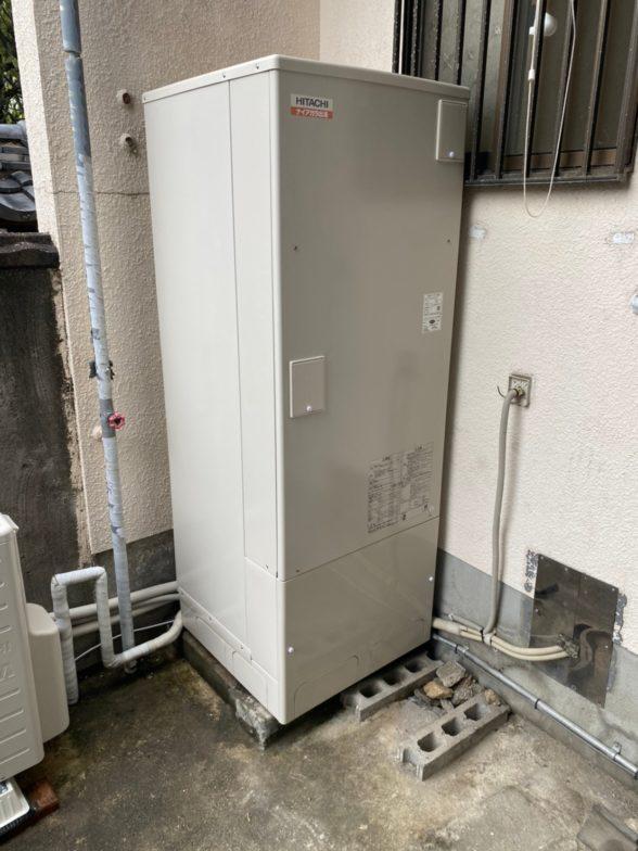 奈良県日立エコキュートBHP-F37SD施工後の写真