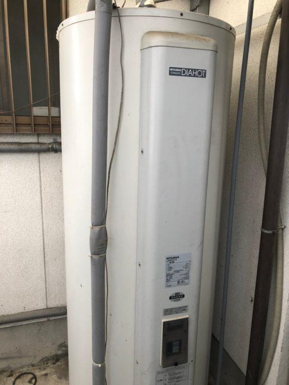滋賀県東芝エコキュートHWH-B376HA施工前の写真