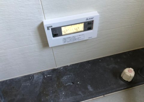 愛知県三菱エコキュートSRT-S375UA施工後その他の写真2