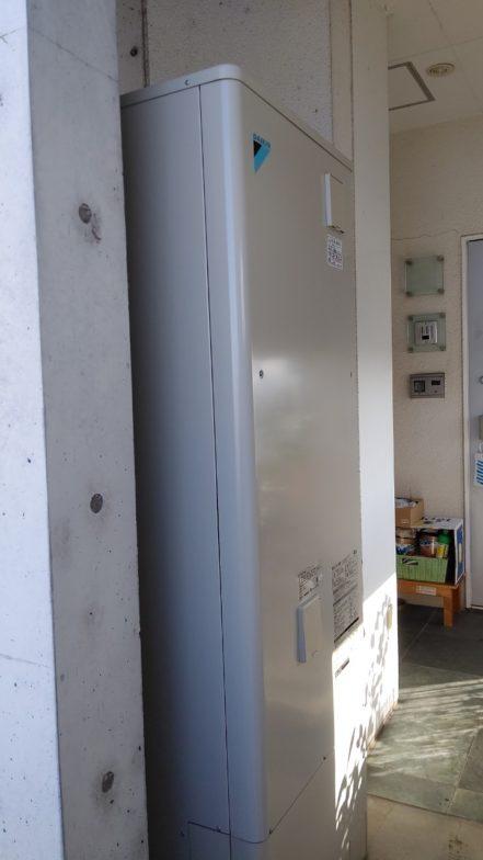 兵庫県ダイキンエコキュートEQ37VFV施工後の写真