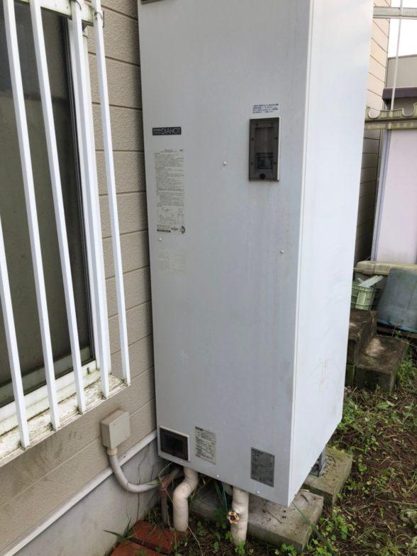 京都府三菱エコキュートSRT-N375施工前の写真