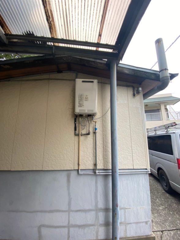 三重県東芝エコキュートHWH-B376施工前の写真