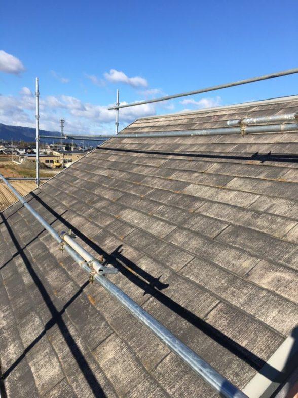 愛知県Qセルズ太陽光4.2kw発電システム施工前の写真