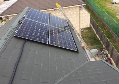 奈良県長州産業3.1kw発電システム施工後その他の写真1