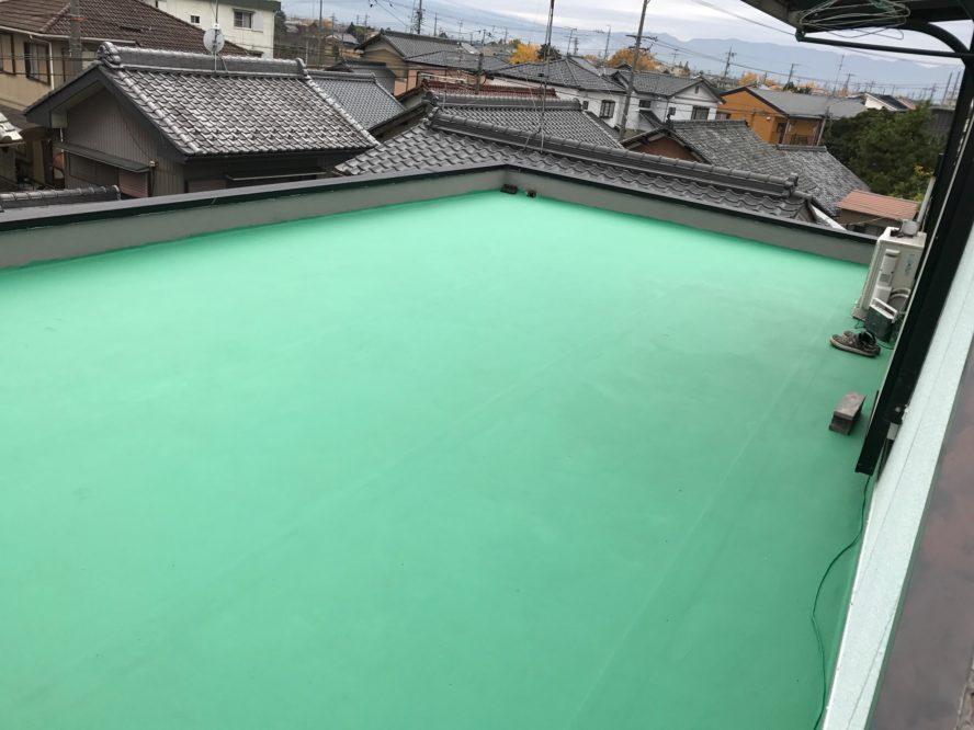 大阪府長州太陽光CS-284B61×10枚施工前の写真