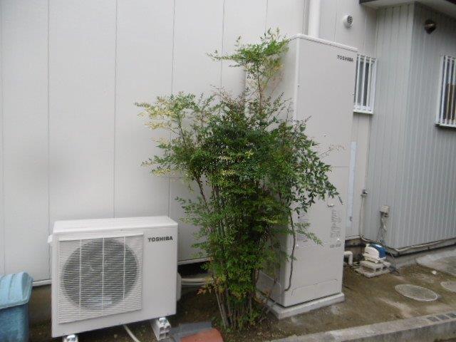 兵庫県東芝エコキュートHWH-B466HA施工後の写真