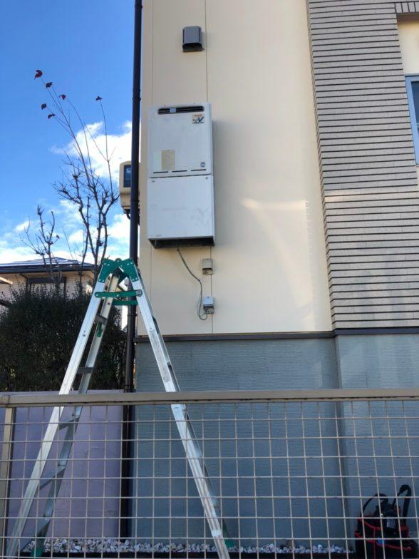 京都府三菱エコキュートSRT-S375UA施工前の写真