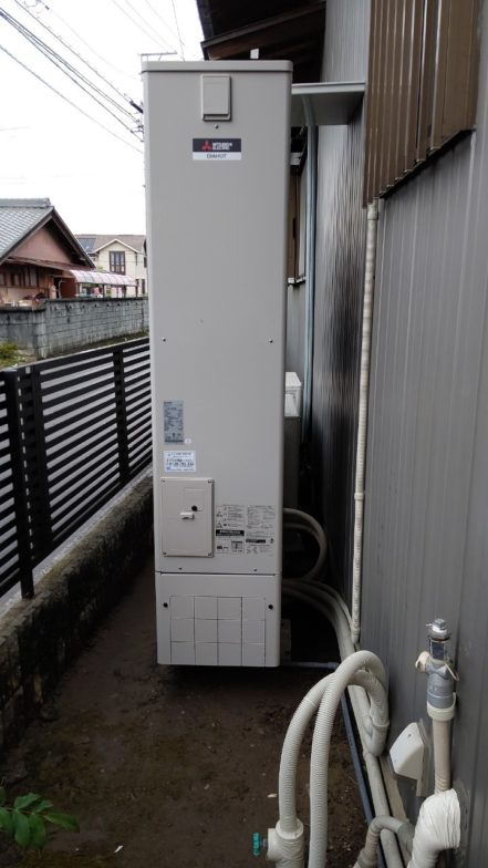 和歌山県三菱エコキュートSRT-S375UA施工後の写真