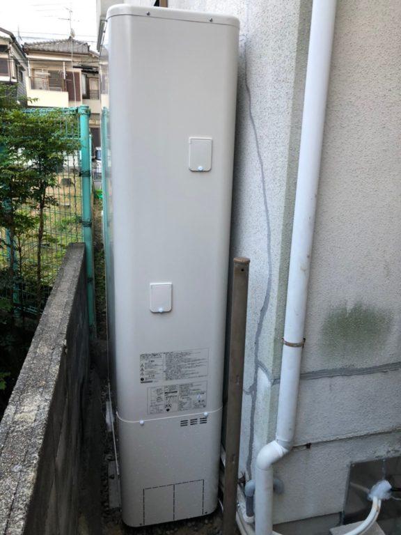 京都府東芝エコキュートHWH-B376HW施工後の写真