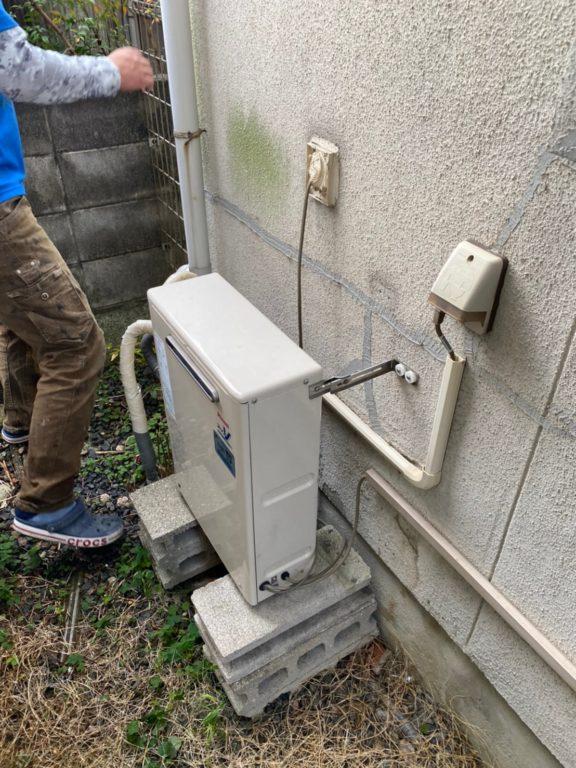 京都府東芝エコキュートHWH-B376HW施工前の写真