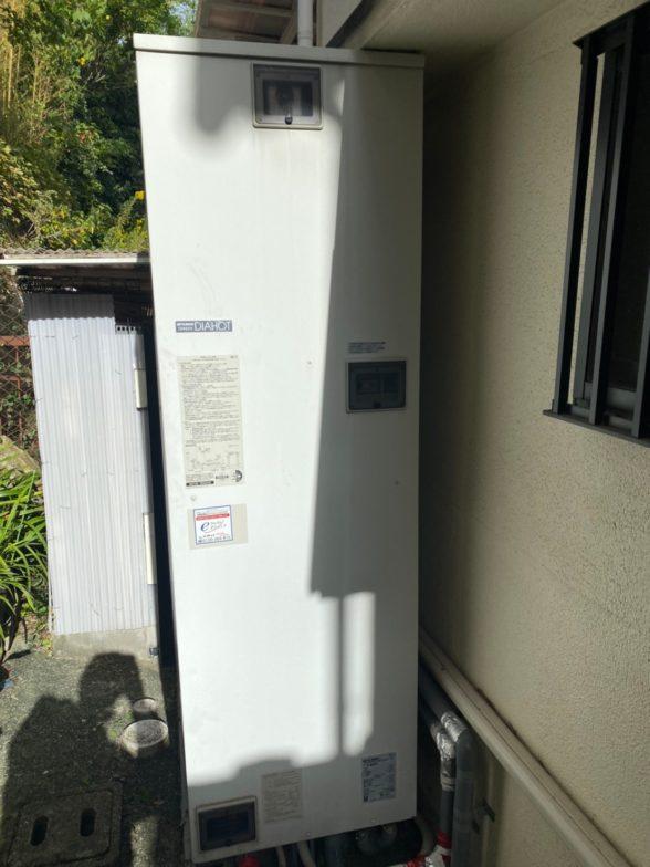 愛知県三菱エコキュートSRT-S465UA施工前の写真