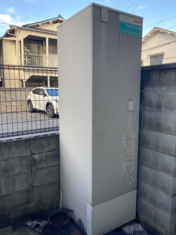大阪府ダイキンエコキュートEQN37VFV施工前の写真
