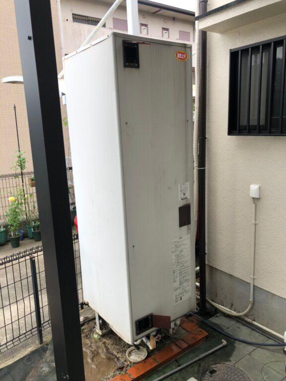 大阪府日立エコキュートBHP-F37SD施工前の写真