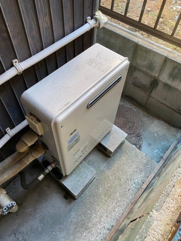 滋賀県東芝エコキュートHWH-B376HW施工前の写真