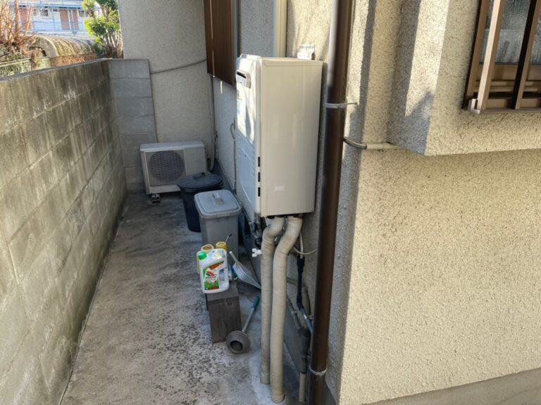 京都府東芝エコキュートHWH-B376H施工前の写真