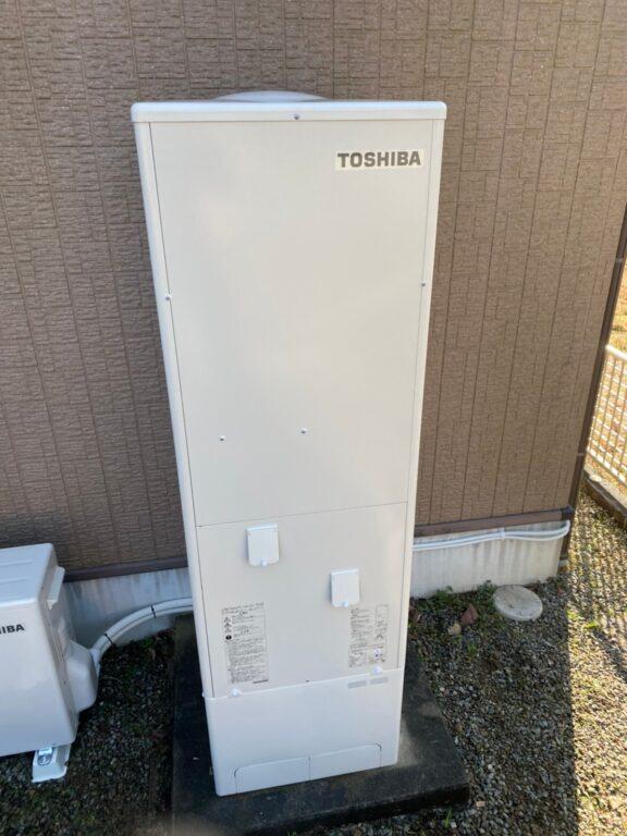 兵庫県東芝エコキュートHWH-B376施工後の写真