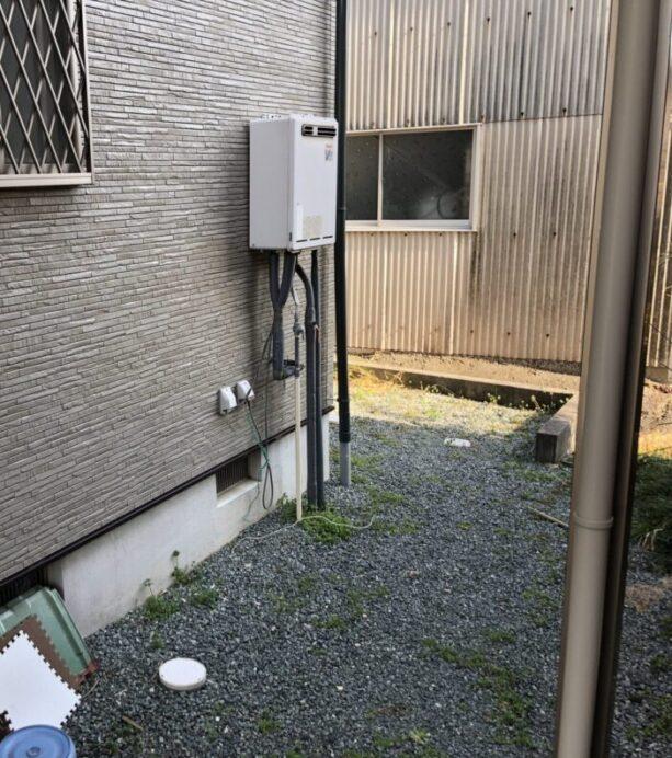 滋賀県東芝エコキュートHWH-B466H三菱IHクッキングヒーターCS-PT316HNSR施工前の写真