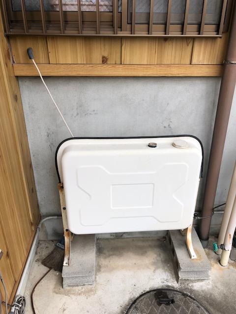 滋賀県東芝エコキュートHWH-B376HAN施工前の写真