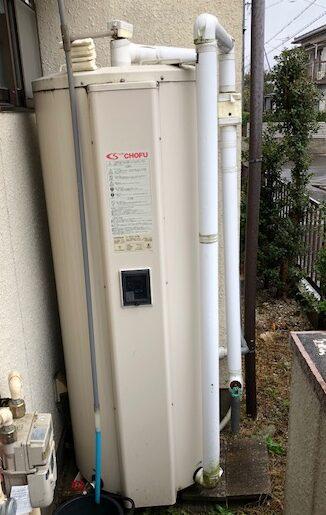 和歌山県東芝エコキュートHWH-B376H施工前の写真