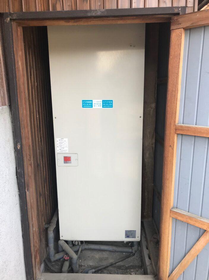 三重県東芝エコキュートHWH-F376H施工前の写真
