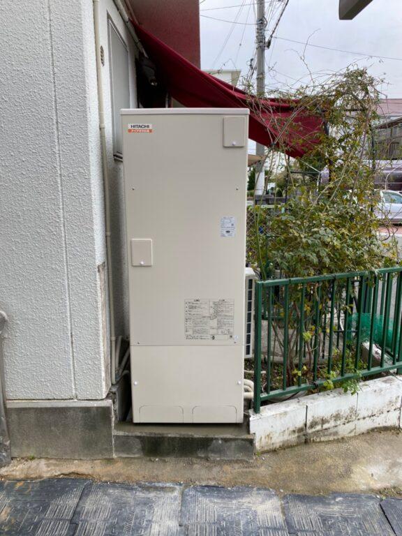 京都府日立エコキュートBHP-F37SD施工後の写真