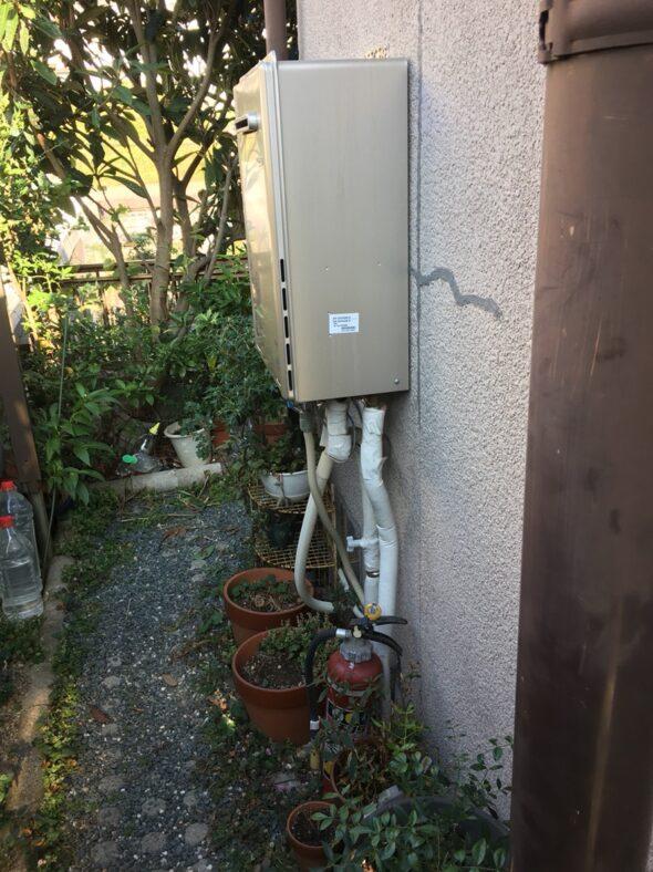 三重県東芝エコキュートHWH-B376HW施工前の写真