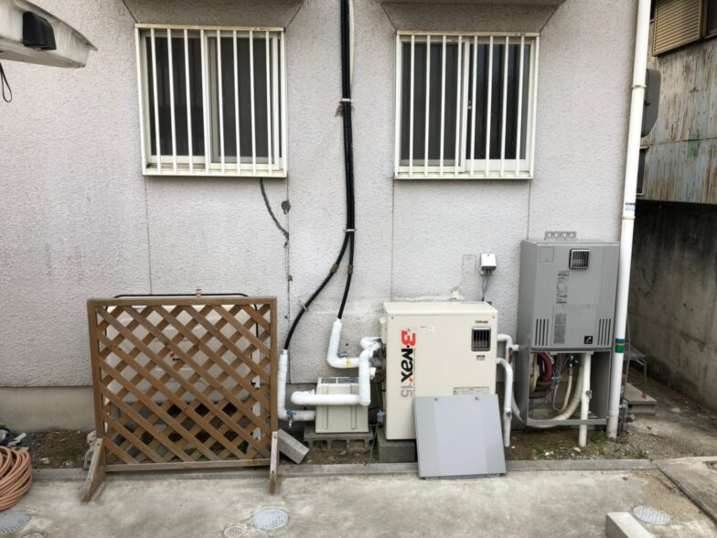 三重県東芝エコキュートHWH-B466H施工前の写真