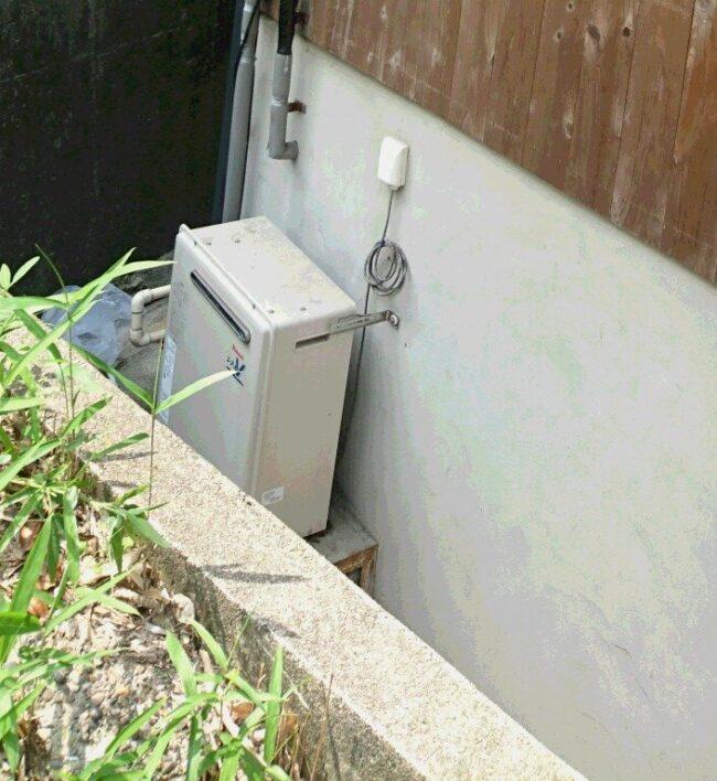 奈良県東芝エコキュートHWH-B376HWA施工前の写真