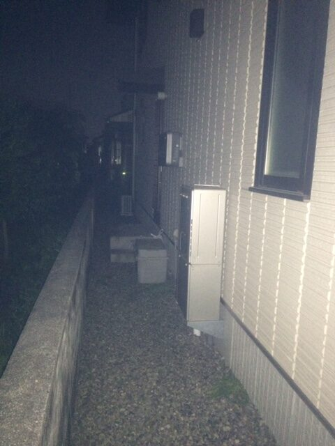 奈良県三菱エコキュートSRT-S465UA施工前の写真