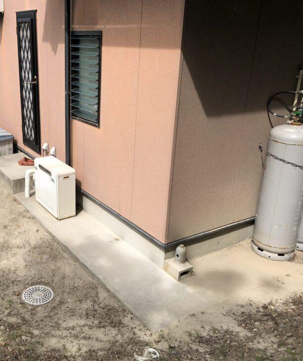奈良県東芝エコキュートHWH-B376HW施工前の写真