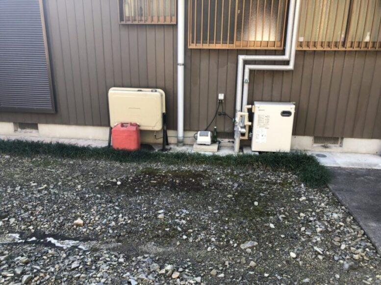 奈良県東芝エコキュートHWH-F376H施工前の写真