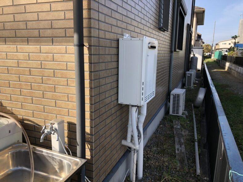 奈良県東芝エコキュートHWH-B566HA施工前の写真