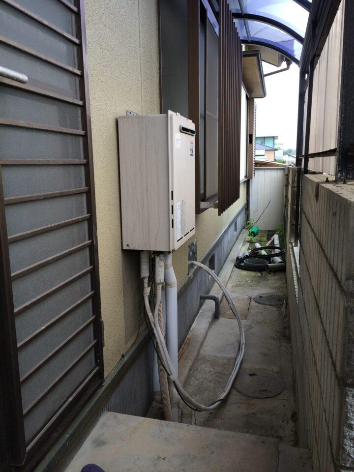 兵庫県三菱エコキュートSRT-S375UA施工前の写真