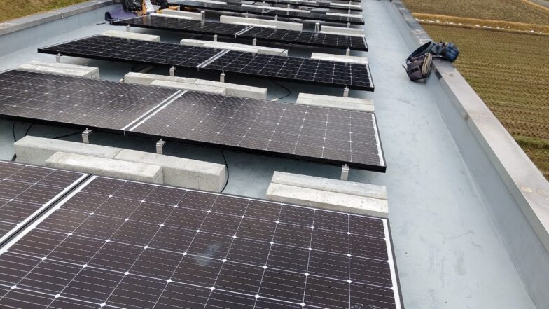 三重県長州産業5.2kw発電システム施工後の写真