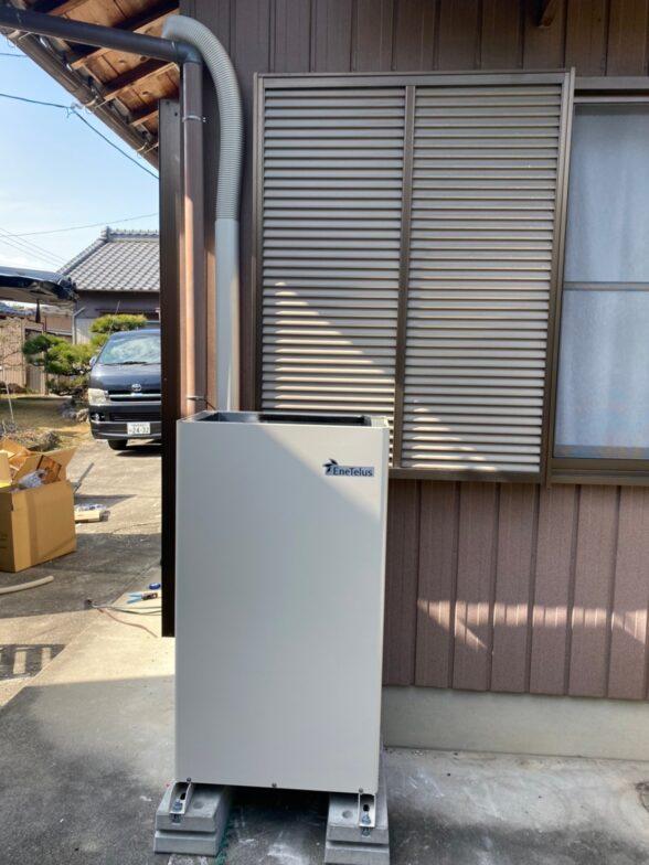 滋賀県田淵電機 EIBS7EOF-LB70-TK施工後の写真