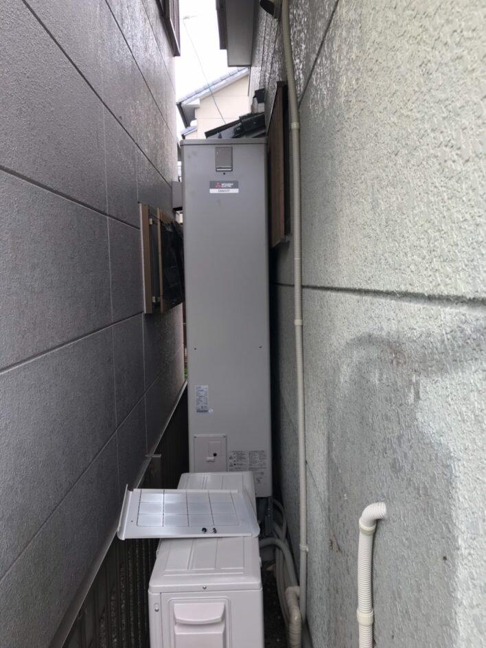 兵庫県三菱エコキュートSRT-S375UZ施工後の写真