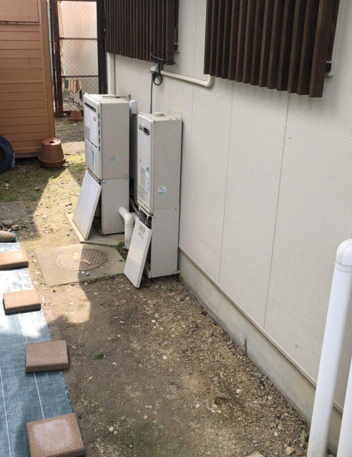 奈良県三菱エコキュートSRT-S375UA施工前の写真