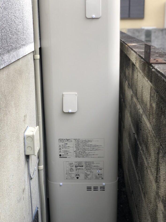 滋賀県東芝エコキュートHWH-B376HW施工後の写真