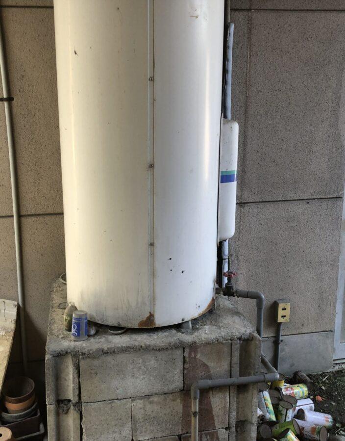 兵庫県東芝エコキュートHWH-F376H施工前の写真