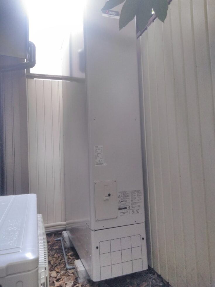 兵庫県三菱エコキュートSRT-S375UZ三菱IHクッキングヒーターCS-G318M施工後の写真