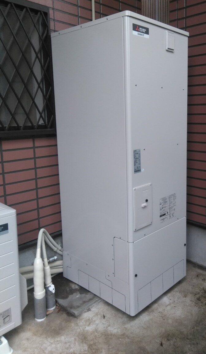 大阪府三菱エコキュートSRT-P375UB施工後の写真