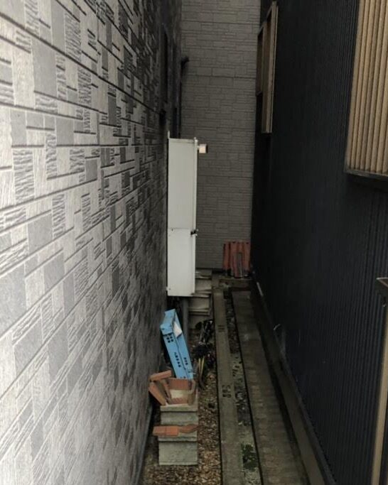 大阪府三菱エコキュートSRT-S375UA施工前の写真