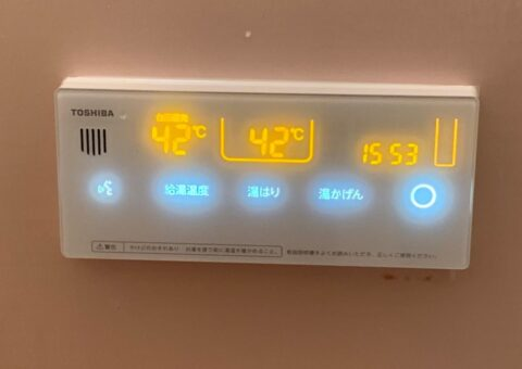 奈良県東芝エコキュートHWH-B376HWA施工後その他の写真1